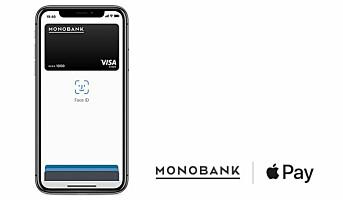 Monobank lanserer Apple Pay
