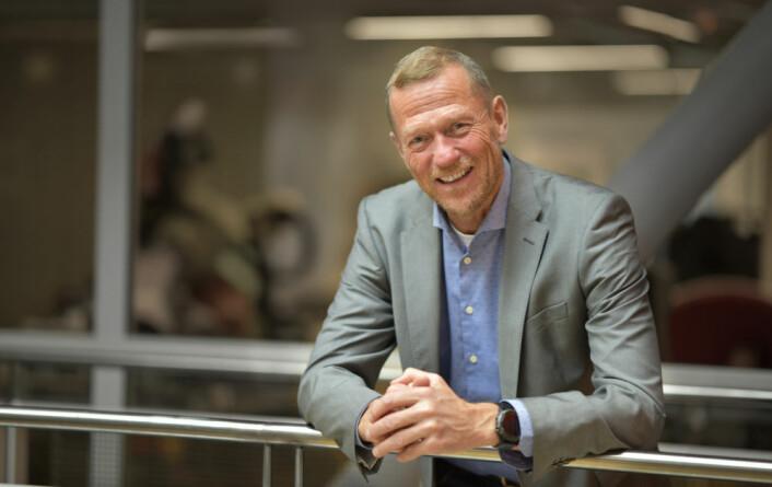 Ove Fredheim: – Vi har store forventninger til hva kunstig intelligens kan gjøre for varehandelen. (Foto: Martin Fjellanger)