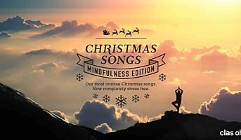 Clas Ohlson reduserer stress med spesialkomponert julemusikk