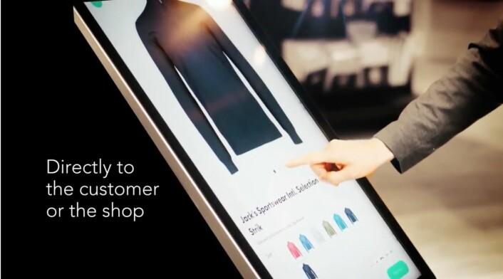 Direkte levering fra varehuslageret både til kunde og butikk. (Foto: Wagner)