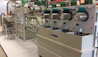Industrialiserer tekstilfiber fra nordisk skog