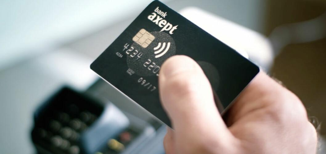 Bankkort med BankAxept ble benyttet nesten 1,64 milliarder ganger i 2018.