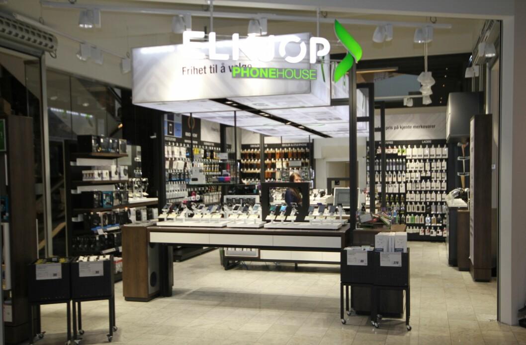 Elkjøps Phonehouse-butikker blir nå kontantfrie. (Foto: Elkjøp Norge)