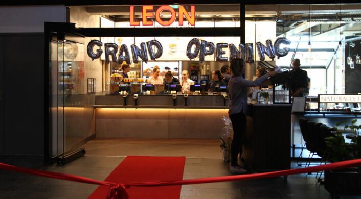 Størst vekst i kategorien 'serveringssteder. Her åpner Norges aller første Leon-restaurant. (Foto: Monica Toften)