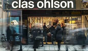 Clas Ohlsons netthandel opp 52%