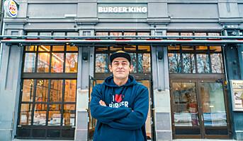 Burger King åpner treetasjes flaggskip på Karl Johan