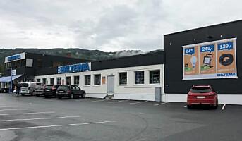 Første søndagsåpne Biltema varehus