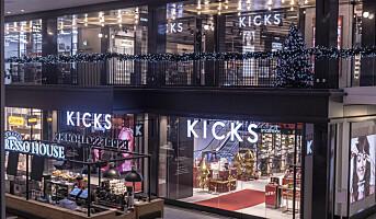 Kicks åpner gedigen flaggskipbutikk i Stockholm