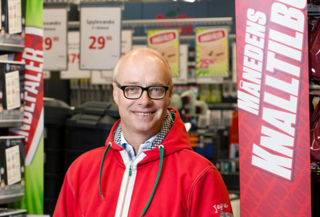 Adm.dir. Pål Wibe i Europris står i spissen for den største moderniseringen og oppgraderingen av butikkene i kjedens historie. (Foto: Europris)