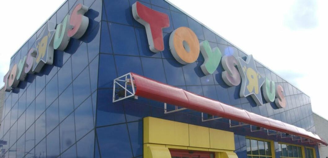 Stadig flere konkursrammede Toys R Us-butikker havner i andre kjeder. (Ill. Foto: Odd Henrik Vanebo)
