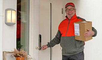 Tester pakkelevering innenfor døren