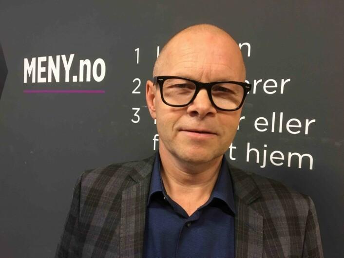 Knut Nyløkken er netthandelssjef i Meny. Foto: Meny