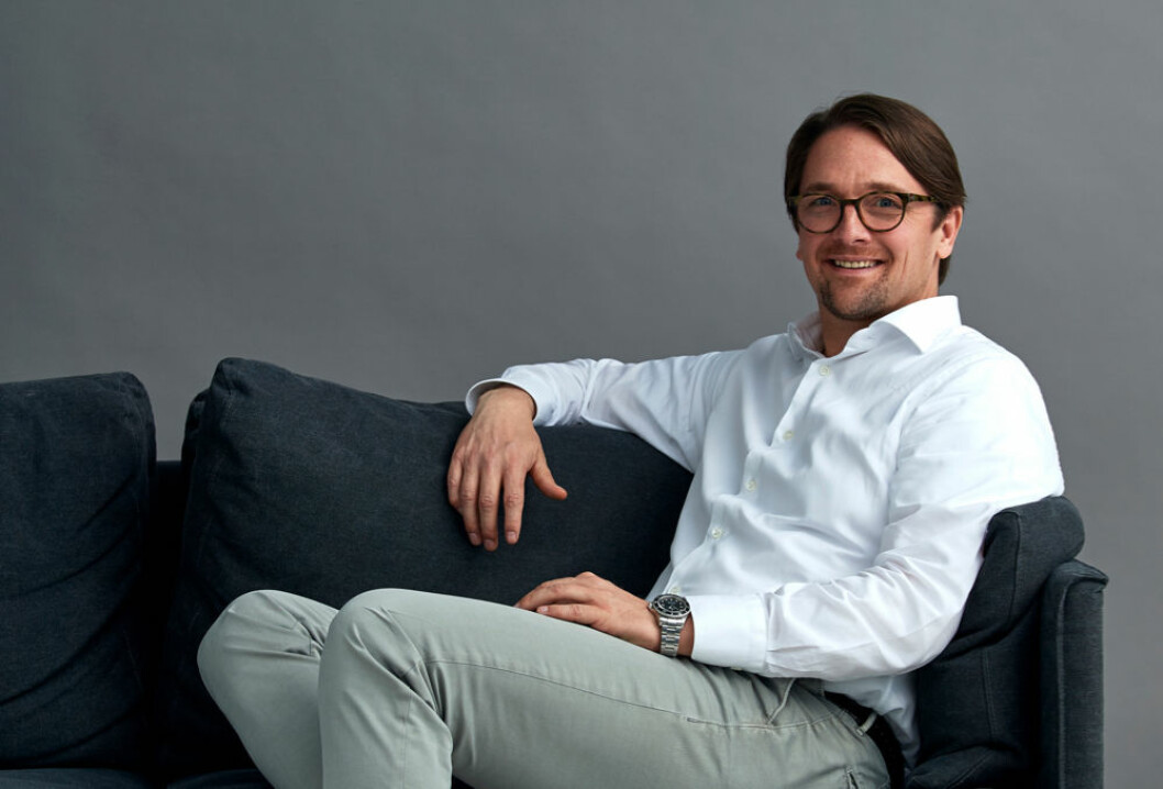Konsernsjef i Ellos Group Hans Ohlsson – 'utrolig glad' for prisen. (Foto: Ellos Group)
