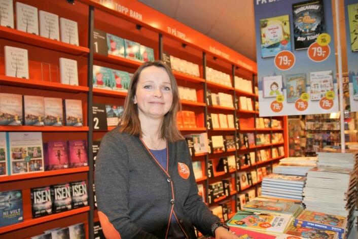 – Trønderne liker å lese bestselgere, og det går mye i krim her på City Syd, sier butikksjef Marianne Næss hos Ark bokhandel.