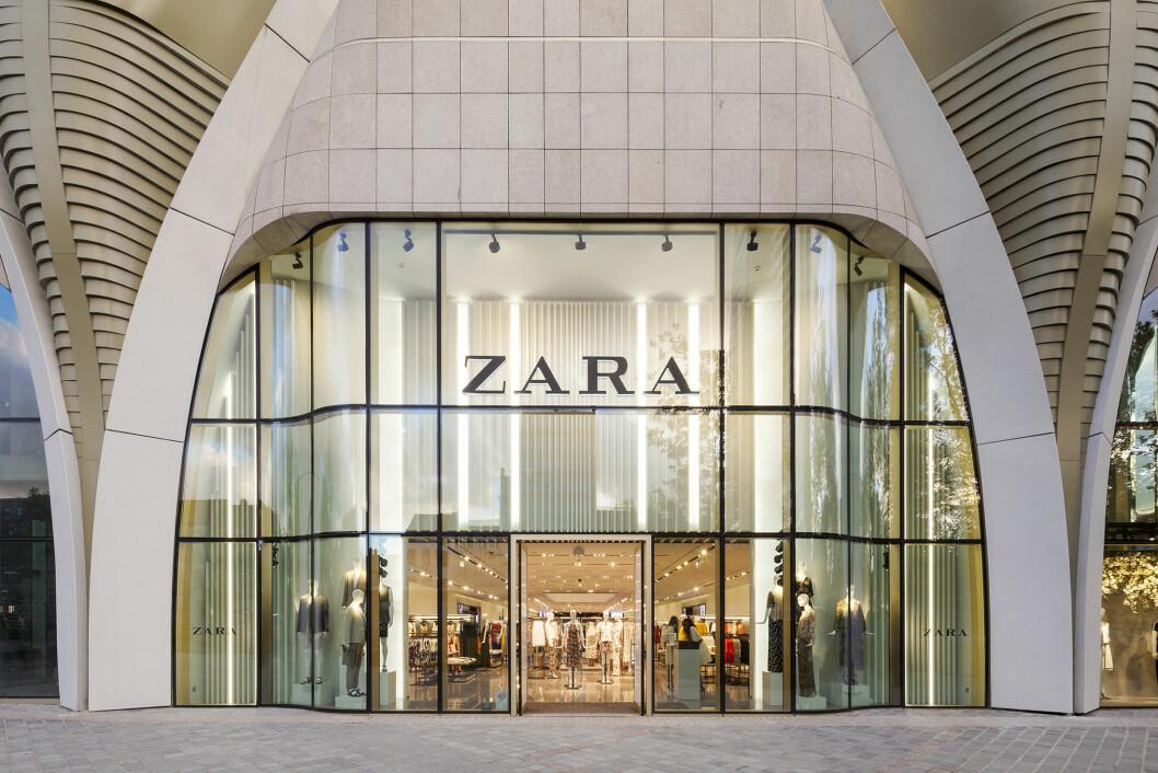 Zara Home flytter inn i større Zara-butikker, som denne i Brussel. (Foto: Intidex)