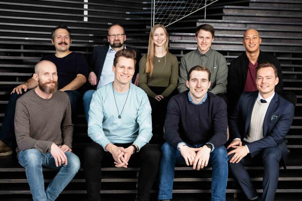 Øverst fra venstre: Anders Oredsson, Terje Skog Jenssen, Kaia Rose Traub Wullf, Aksel Dybdal, Joakim Johannessen. Nederst fra venstre: August Flatby, Kris Riise, Johan Biermann Knudsen, Finn Magnus Holden.