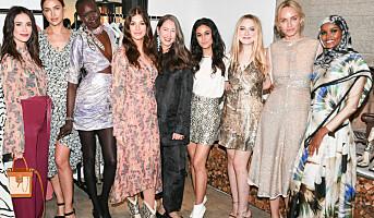 H&M lanserte ny kolleksjon med kjendiser i LA
