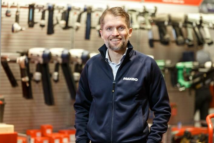 Thomas Støkken: – Kjøpet vil styrke Maxbos posisjon som en ledende leverandør av byggevarer. (Foto: Maxbo)
