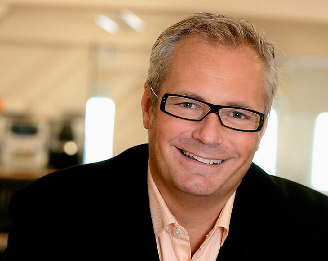 Leif Liljebrunn sitter som toppsjef inntil etterfølgeren er på plass. (Foto: ZetaDisplay)
