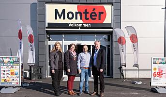 Nytt Montér-varehus på Averøy
