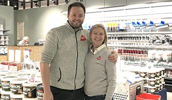 Åpnet pop–up-butikk i Hunstadsenteret
