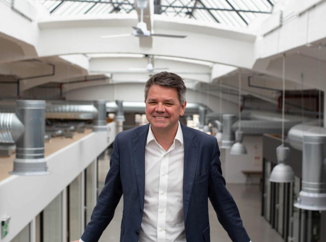 Torstein Harildstad: – Fanclub oss umiddelbart inngrep i markedet. (Foto: Creuna)