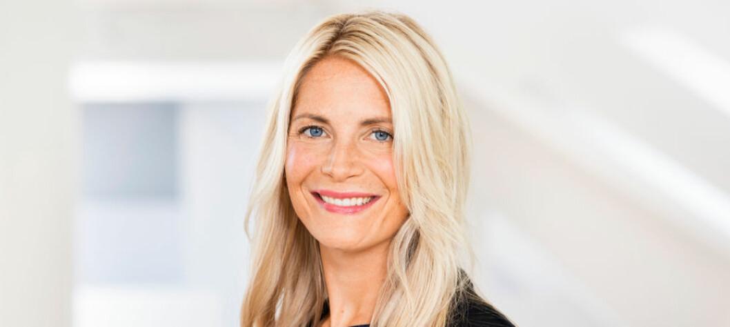 Susanne Ehnbåge: – Vi har hatt en sterk omsetningsvekst både i de fysiske butikkene og på nett. (Foto: Lindex)