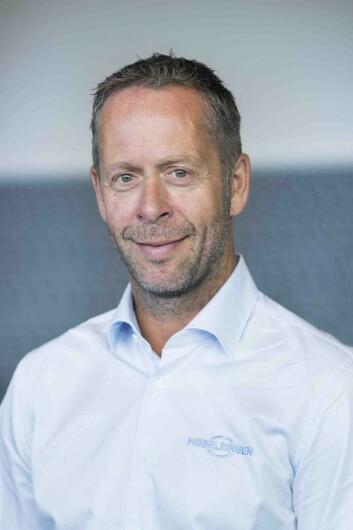 Henning Eriksen er adm. dir. i Møbelringen. Foto: Møbelringen