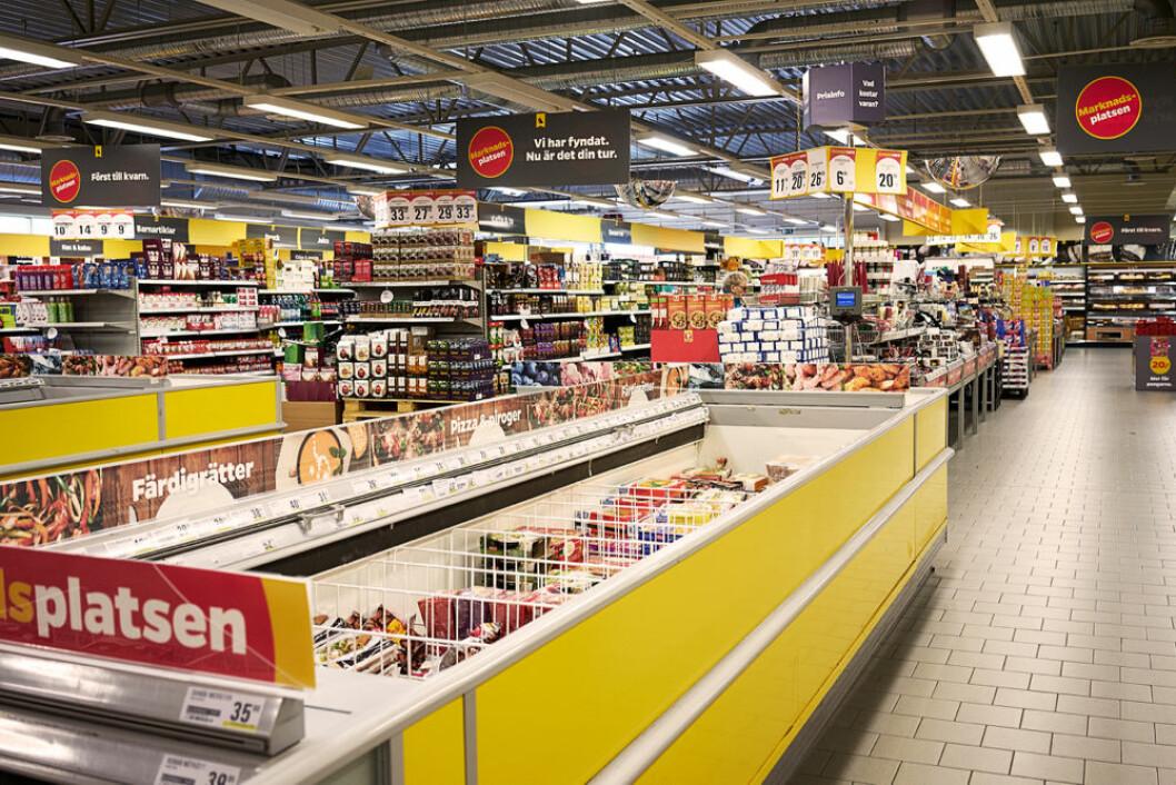 Et blikk inn I en svensk Netto-butikk. (Foto: Wikipedia Creative Commons)