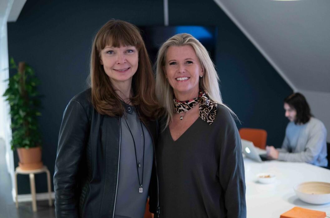 Kjerstin Tollefsrød og Kirsti K. Berg har begge rollen som daglig leder, henholdsvis for Ludens Reklame og Ludens Retail.