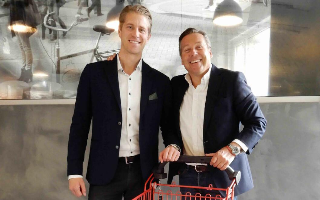 Håkon Smith Andersen (t.v.) og Sigurd Herrlin Sørensen har allerede funnet tonen. (Foto: Retail Energy)