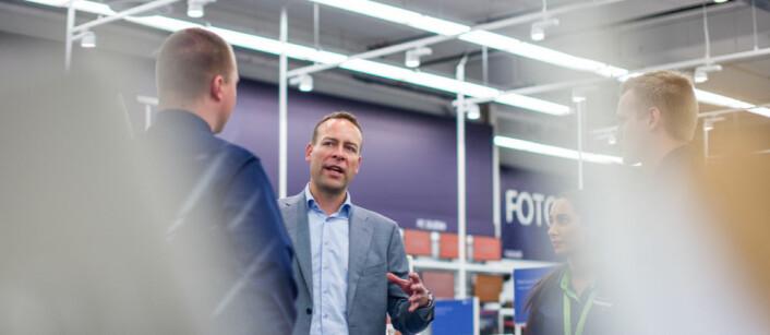 KLAR FOR NYE UTFORDRINGER: Jaan Ivar Semlitsch overtar som konsernsjef for Orkla ASA. (Foto: Elkjøp Nordic)
