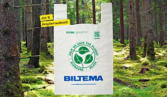 Lanserer mer miljøvennlige bæreposer