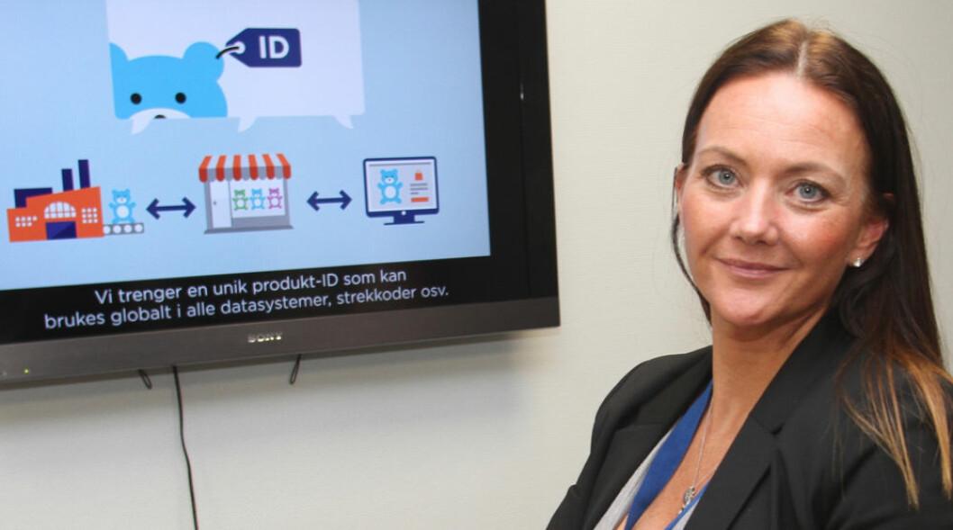 Renate Arntsen skal tilrettelegge for videre digitalisering av dagligvarebransjen i Norge. (Foto: GS1 Norway)