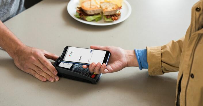 Google Pay er et alternativ. (Fotos: Sbanken)