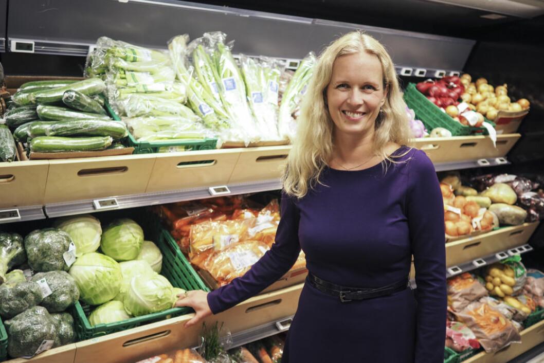Ingvill Størksen: – Sverige er Norges fjerde største dagligvareaktør og omsetter for mer enn Bunnpris-kjeden, som har 250 butikker i Norge.  (Foto: Virke)