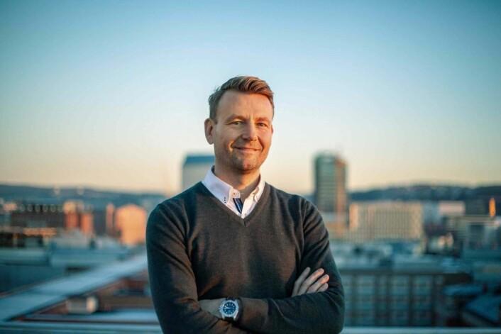 André Braathen er markeds- og kommunikasjonsdirektør i helthjem.