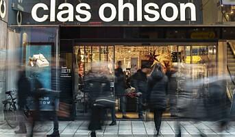 Fall i netthandelen for Clas Ohlson