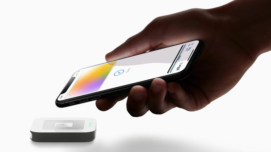 Apple Card tilbyr et nytt nivå med hensyn til personvern og sikkerhet, og innbefatter alle de avanserte sikkerhetsteknologiene til Apple Pay. (Foto: Apple)