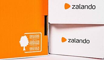 Kun resirkulerbar emballasje fra Zalando