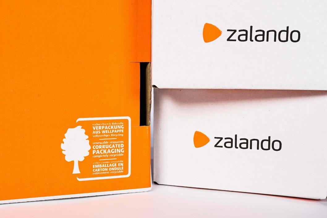 All Zalandos emballasje blir resirkulerbar.