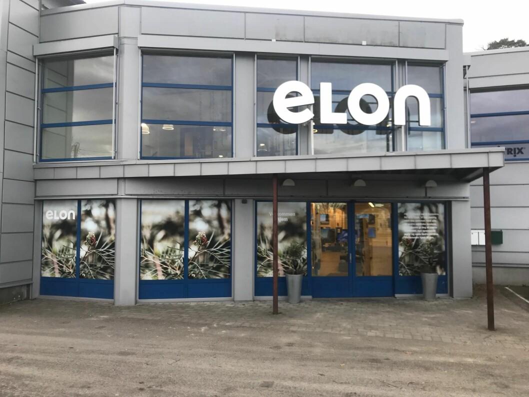 Ill. foto fra Elons butikk i Sarpsborg.