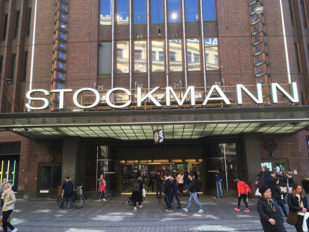 Stockmann assosieres med Nordens mest kjente kjøpesenter i Helsingfors. (Arkivfoto: Odd Henrik Vanebo)