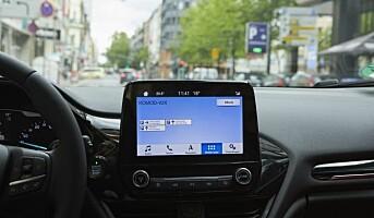 Ford utvikler system som finner ledig parkeringsplass