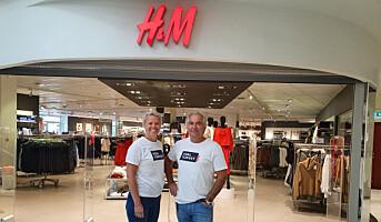 H&M utvider på Hvaltorvet