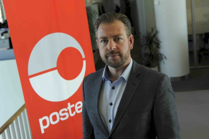 John Eckhoff erpressesjef i Posten. Foto:Birger Morken/Posten