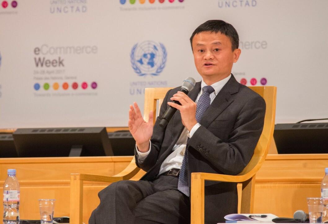 Jack Ma meldte sin avgang på sin 55-årsdag i dag. (Foto: ITU/M. Jacobson-Gonzalez)
