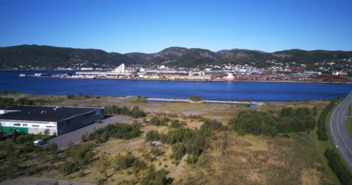 Biltema bygger nytt varehus i Namsos. (Foto: Biltema)