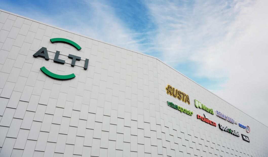 Slik profilerer den nye kjøpesenterkjeden seg. Eksemplet er Alti Futura i Kristiansund. (Foto: Nathan Lediard)