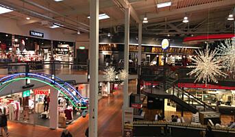 To prosent vekst for Olav Thons kjøpesentre